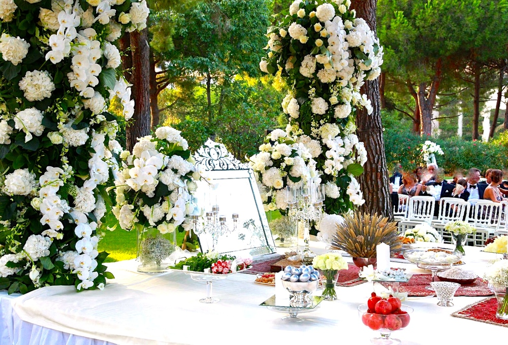 Persian Wedding Spread = Sofreh-ye Aghd