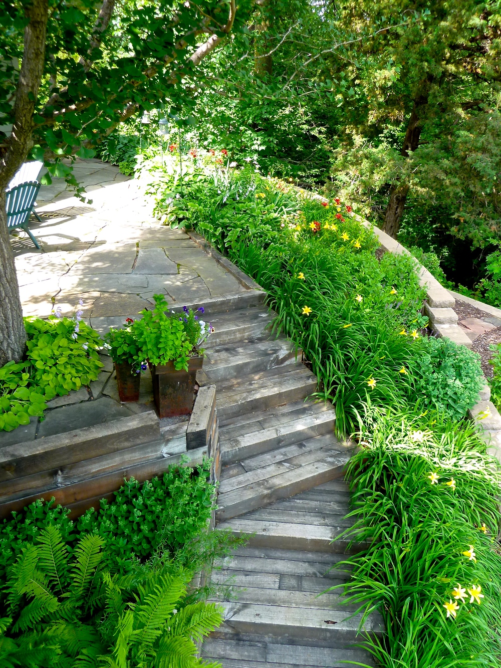 Stairway to a Heavenly Garden