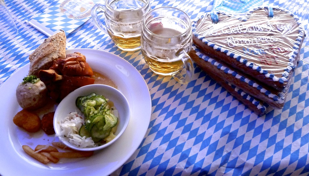 An Austrian Oktoberfest for two=One of Tania's European Dreamy Spirited Tables.
