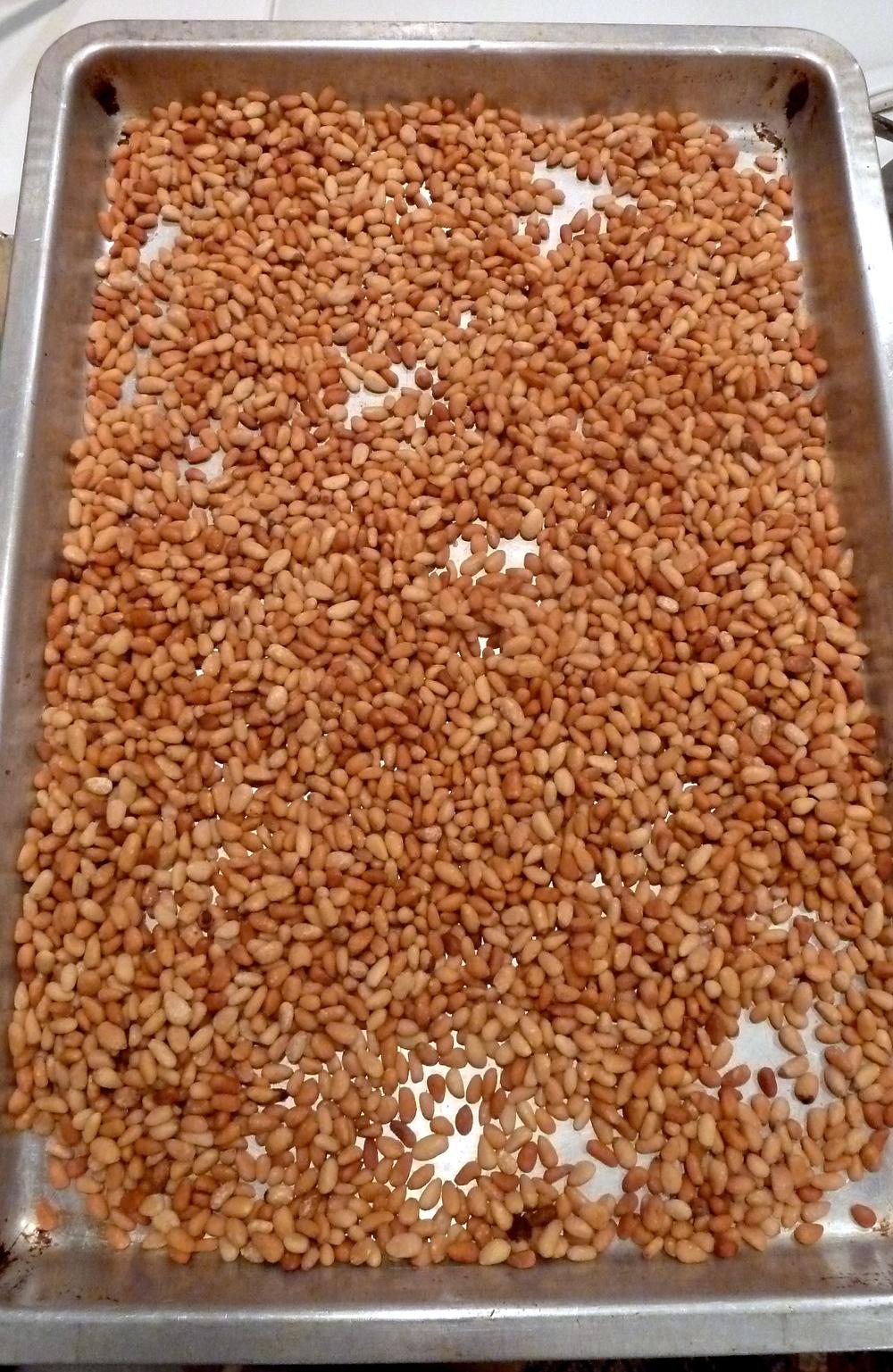 Roast Pine Nuts