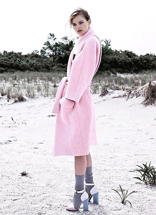 9 eye-catching pastel pink coats meet their sole mates 2013 fashion  pastel pink coats-f14085.jpg