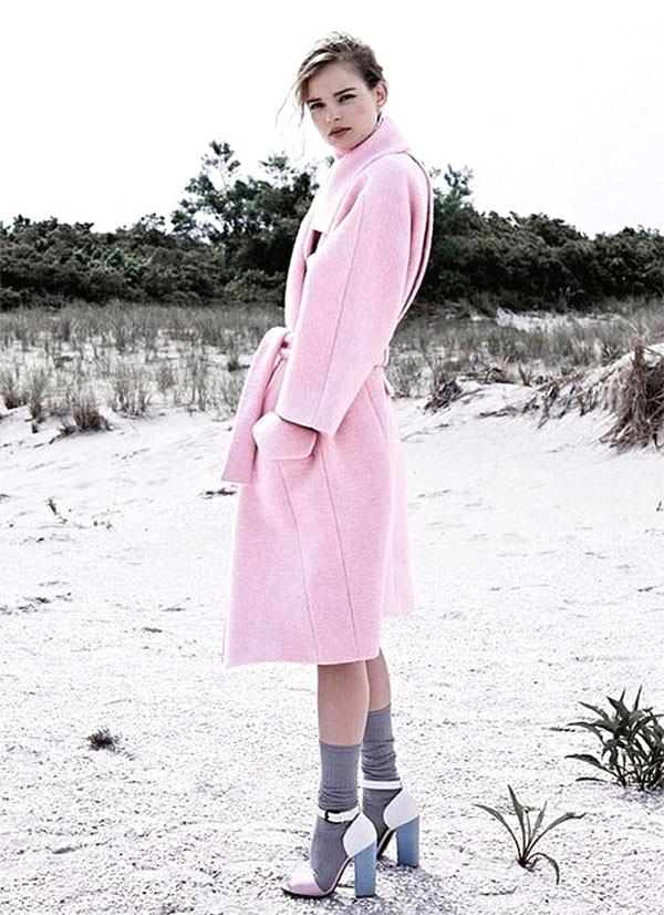 9 eye-catching pastel pink coats meet their sole mates 2013 fashion  pastel pink coats-f14085.jpg