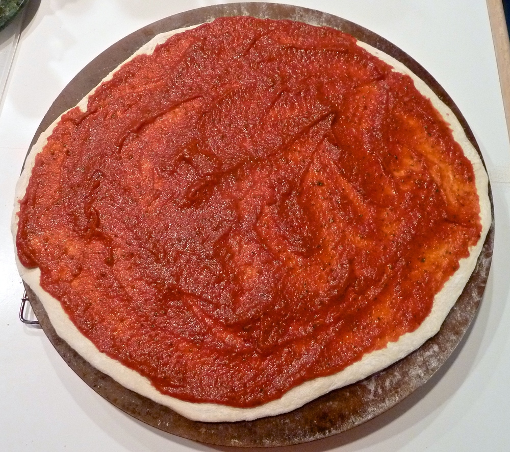 Top with favorite tomato paste