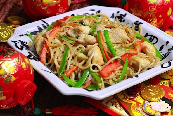 chinese new year customs 2015 long life noodles spirited table - Chinese New Year Customs
