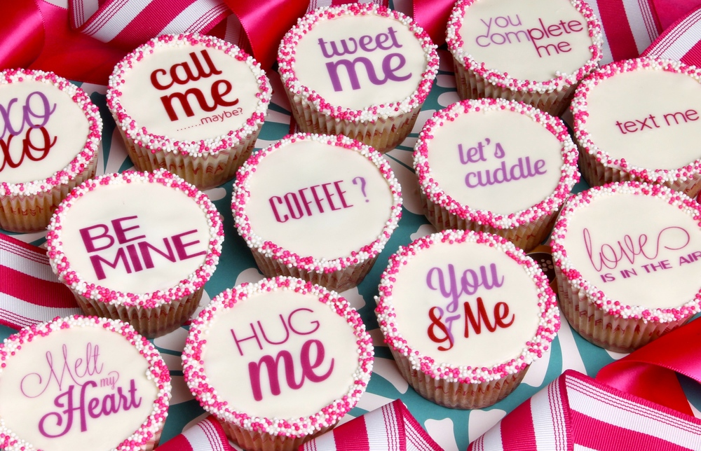 Love Notes Cupcakes