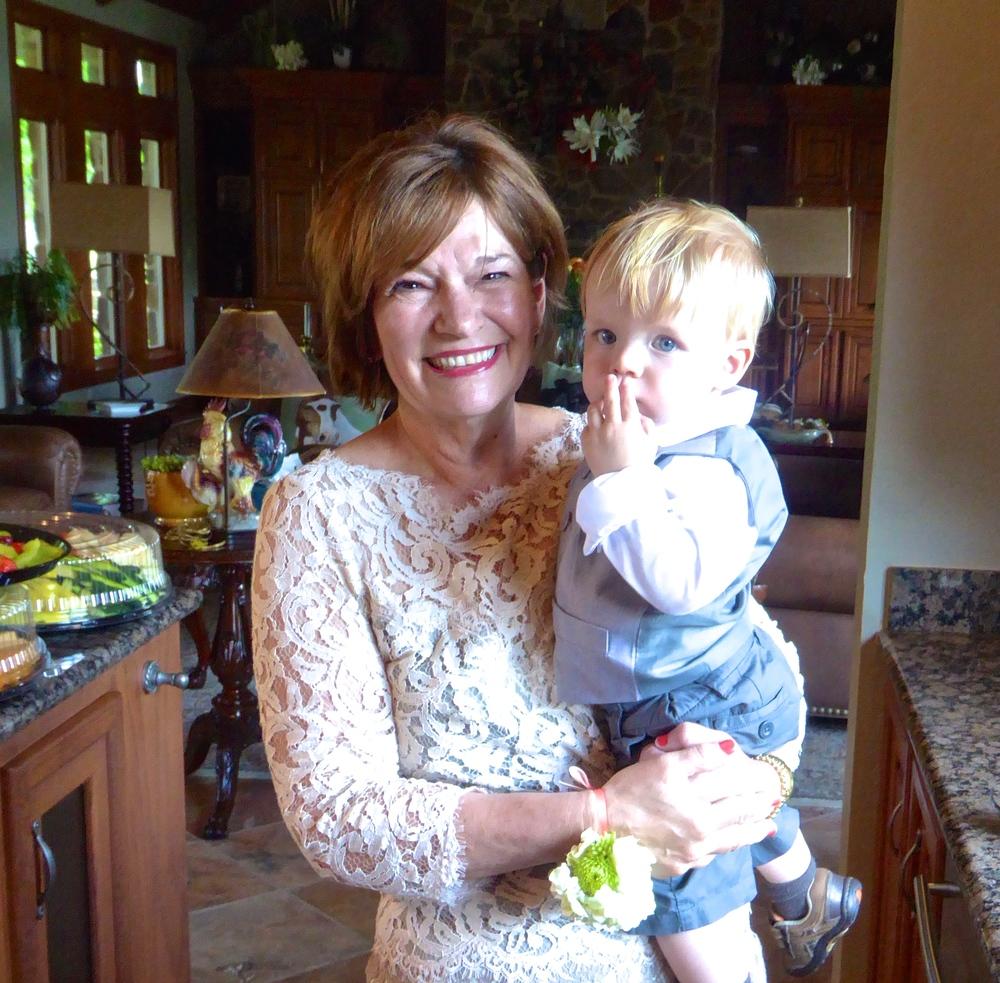 Grandmom & son