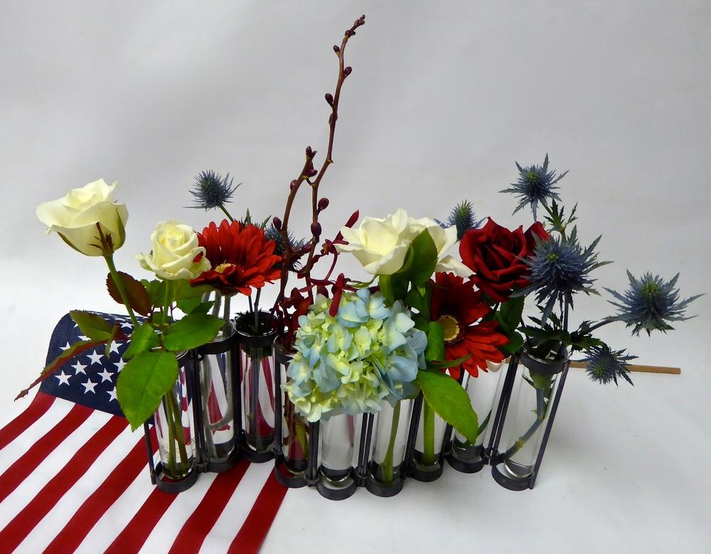 Patriotic Florals