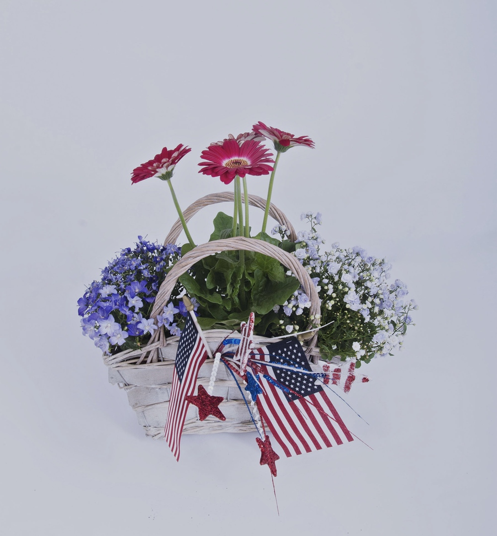 4th of July Floral Recipe