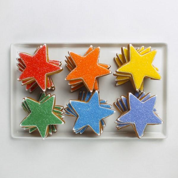 Rainbow Sugar Stars