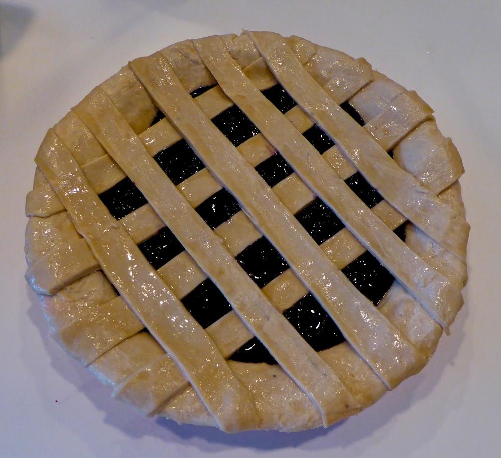 Dawn's Blueberry Pie