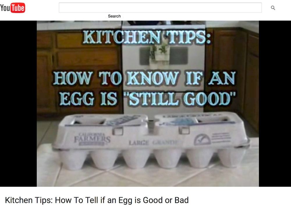 How to know if an egg is still good
