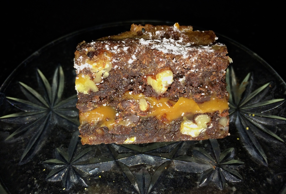spirited table caramel brownies vicki photo