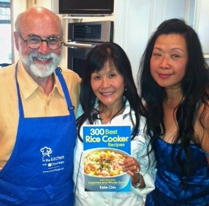 Pictured from left to right, Dr. Michael Friedman, me, Vivian Chen