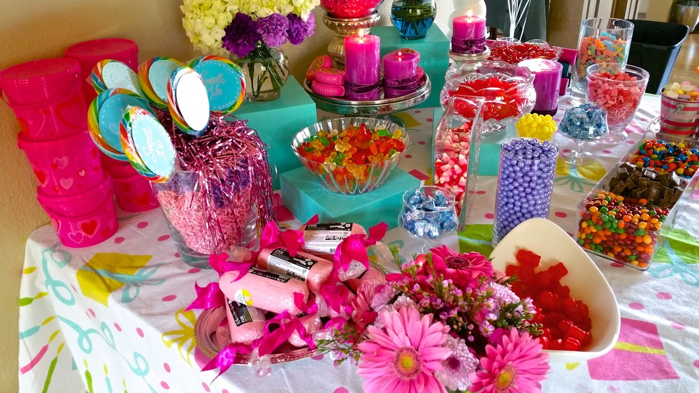 Sweet Sixteen Birthday!  Table setting & photo by Allison Sutter