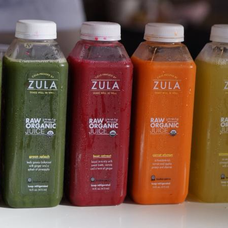 Zula Juice: 10% off all cold-pressed juices and juice cleanse kits!
