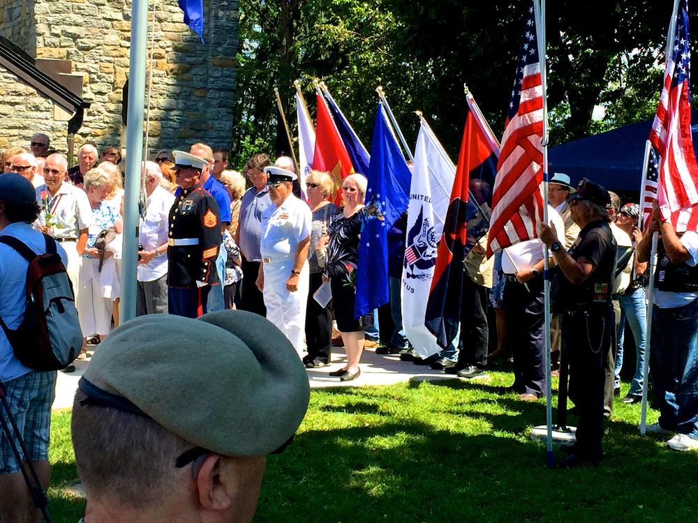 Vietnam memorial July 2015