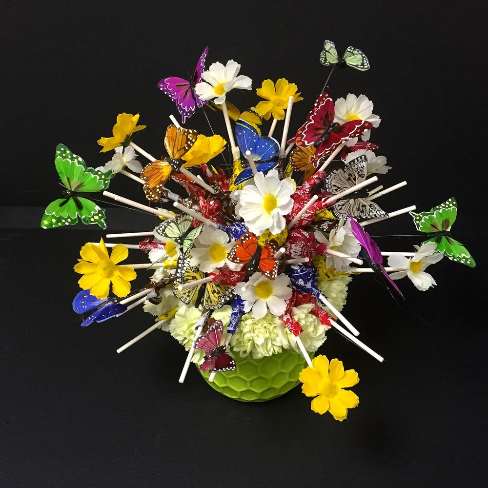 Ardith Beveridge Floral Lollipop Recipe #1
