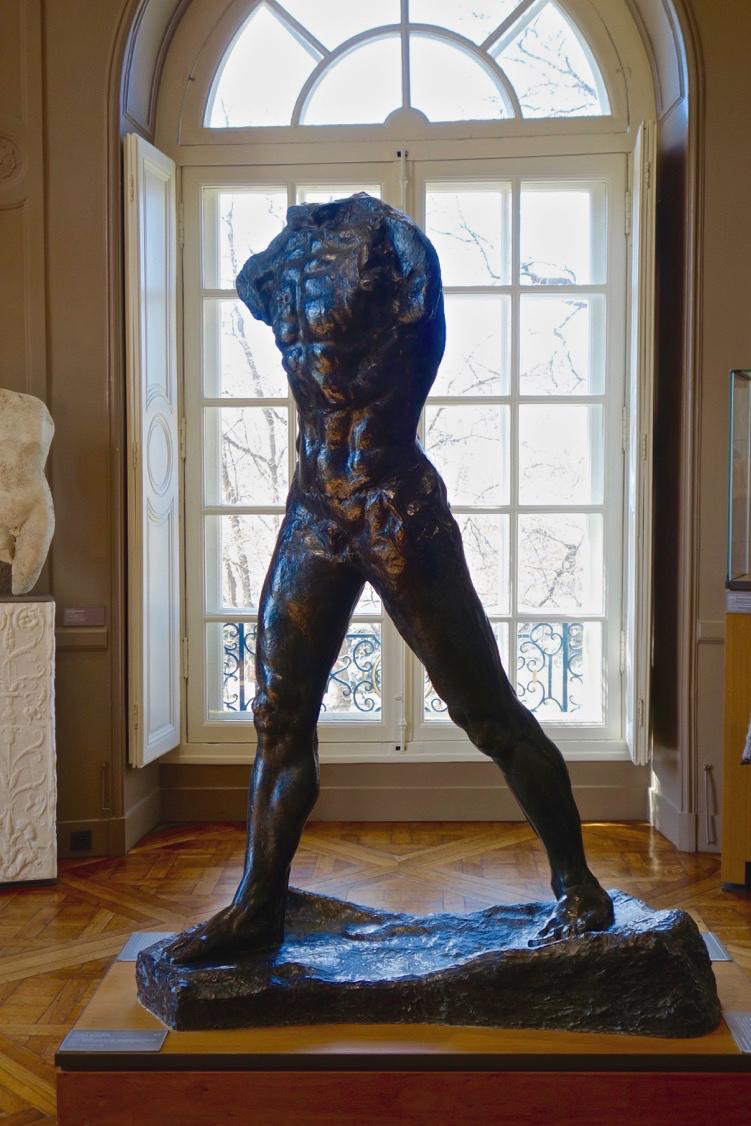 Interior of Musée Rodin, Paris (photo courtesy of Lisa Michaux)