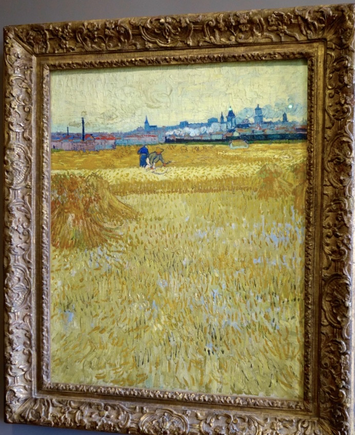 Vincent Van Gogh's  The Harvesters  (1888) Collection of the Musée Rodin, Paris (Photo courtesy of Lisa Michaux)