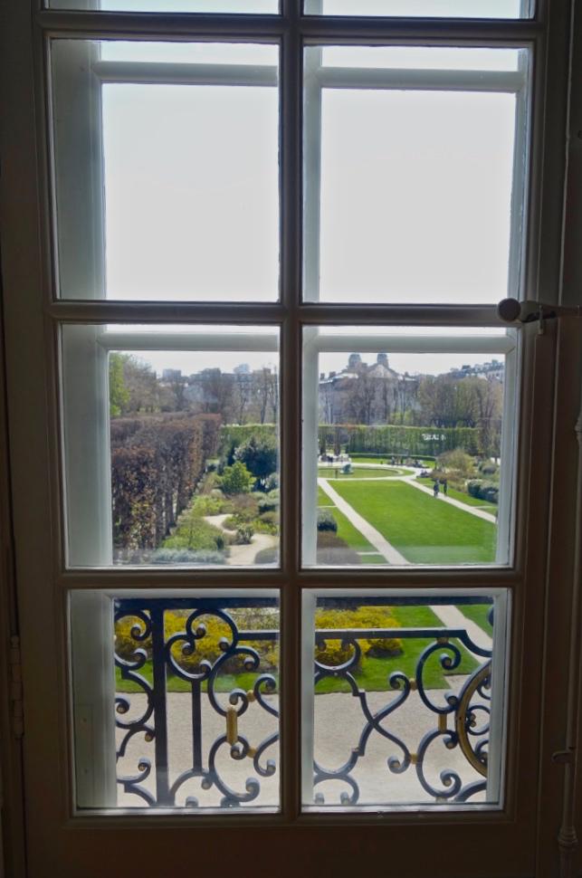 Windows of the Musée Rodin, Paris (photo courtesy of Lisa Michaux)