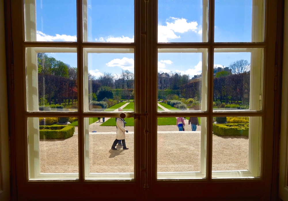 View into the Gardens of the Musée Rodin, Paris (Photo courtesy of Lisa Michaux)