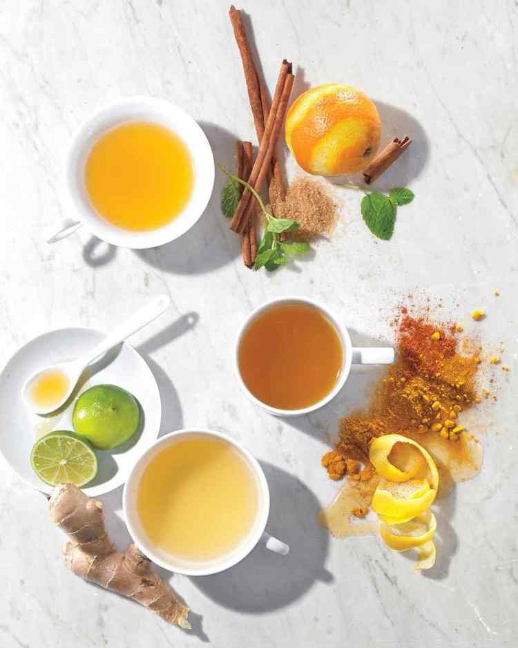 Orange, Cinnamon and Vanilla Bean Homemade Tea