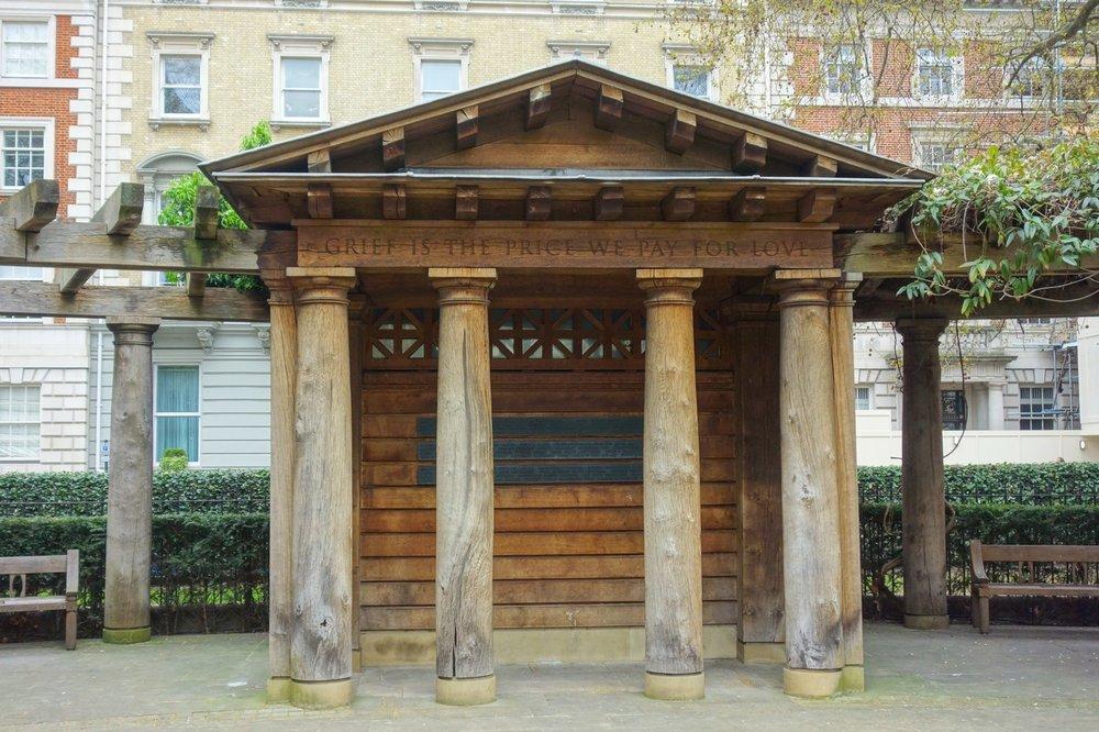 September 11 Memorial Garden, London
