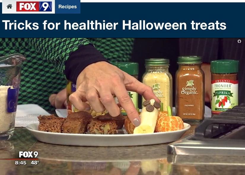 Tricks for healthier Halloween