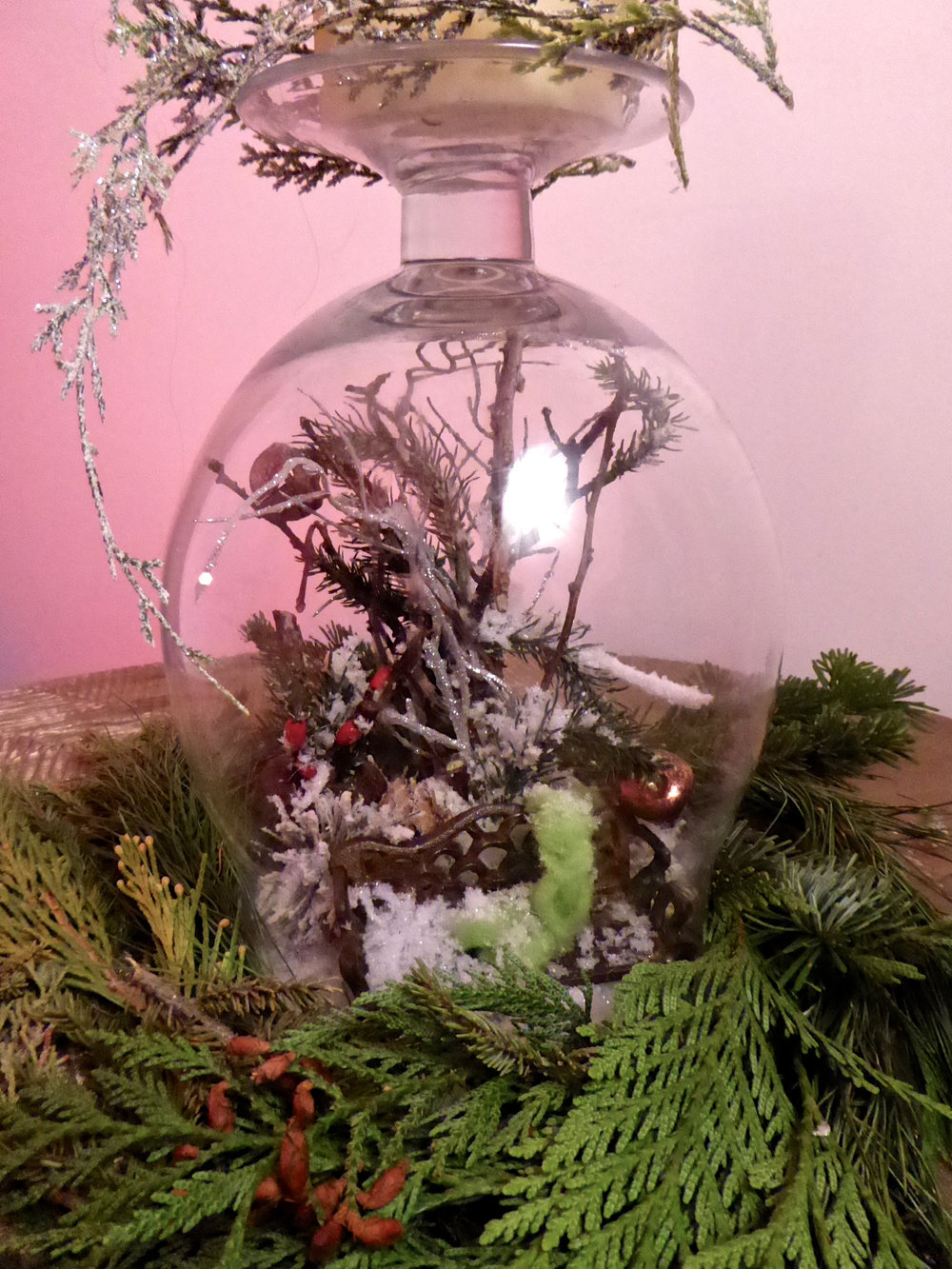 Winter Fairy Gardens