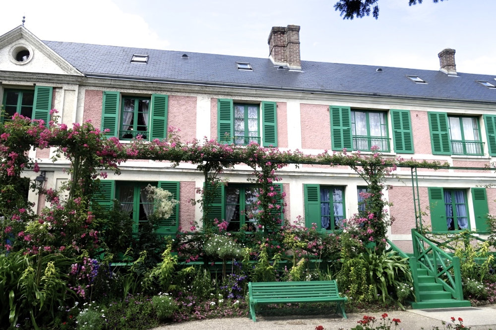 Claude Monet's House in Giverny   (photo courtesy of Lisa Michaux)