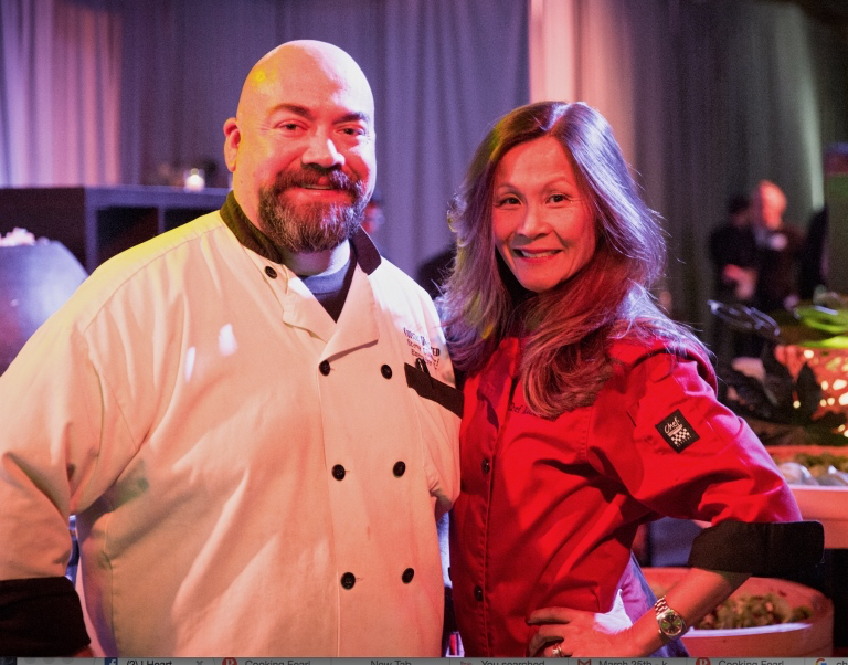 Chef Katie with Chef Steve