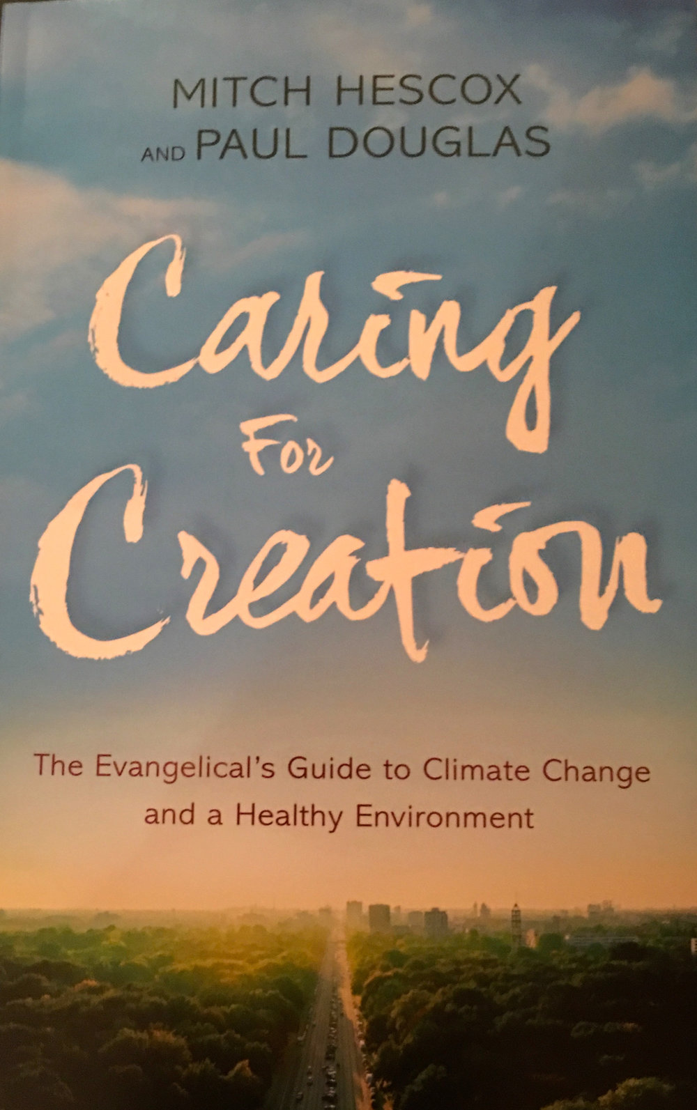 w3 book club caring for creation by paul douglas and mitch hescox