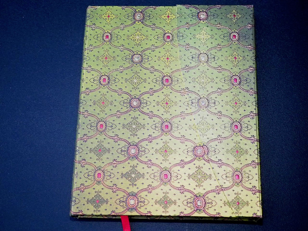 Paperblanks - French ornate = Vert