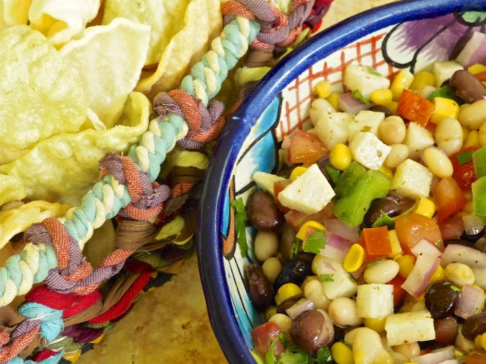New Year's Good Luck Bean Salad