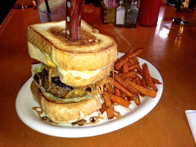 Buffalo vs Sasquatch Burger