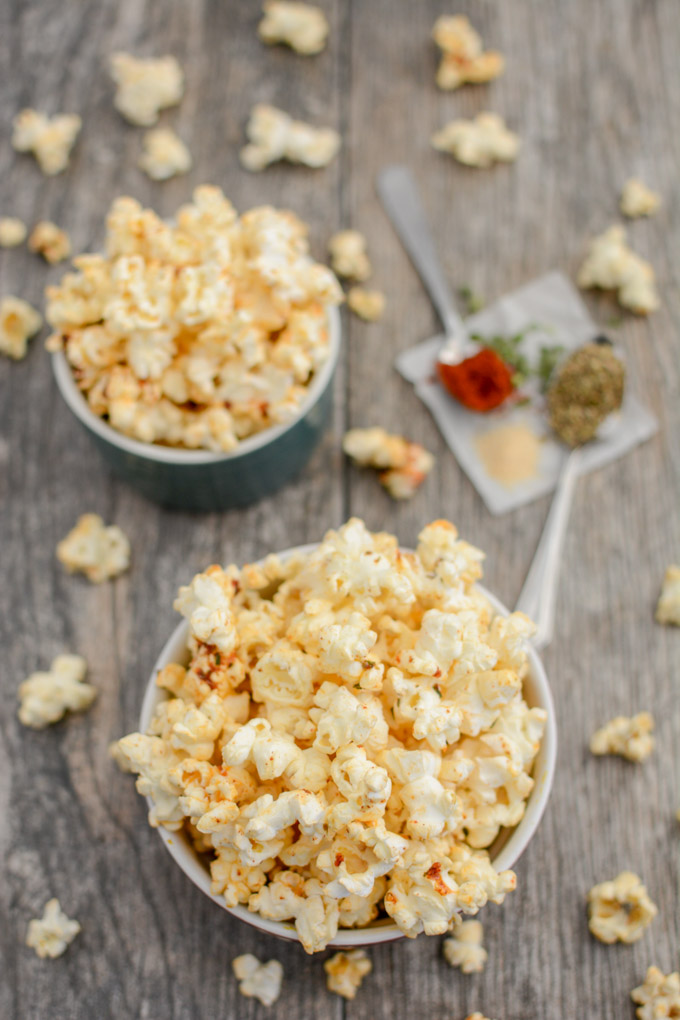 Ranch Popcorn with Some Spice!