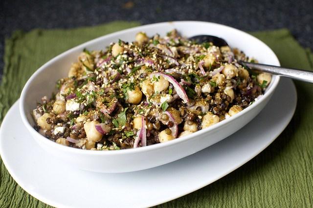 Lentil & Chickpea Salad