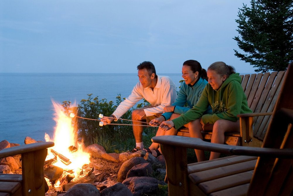 Travel destination -  Larsmont Cottages Lake Superior