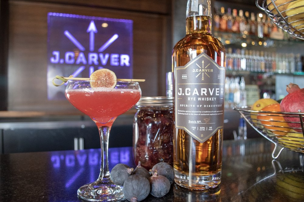 Gina Holman from J. Carver Distillery - Martini Monday & Mixology - Fig and Folly