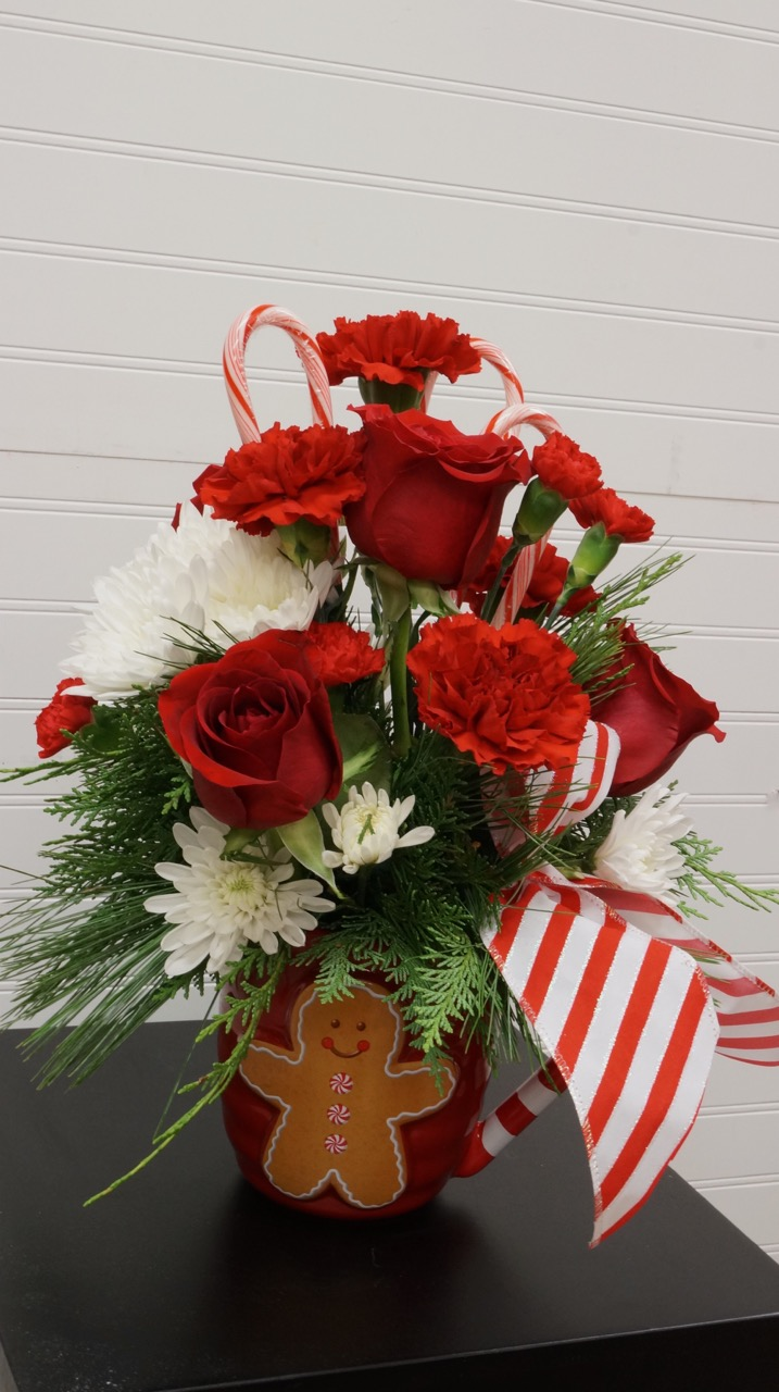 Gingerbread Candy Canes And Flowers Spirited Table