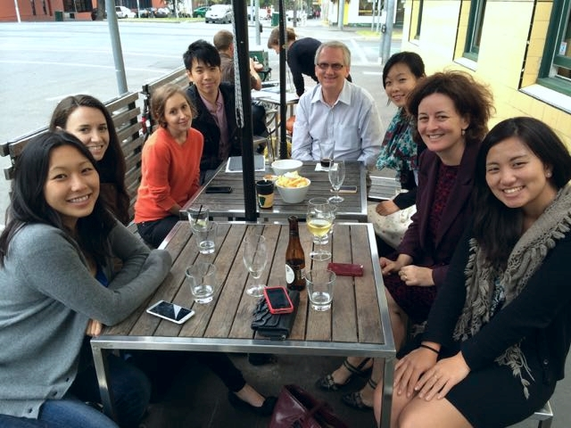 Current and former members of the lab (and friends) got together at the Social Neuroscience Meeting at the University of Melbourne in February 2014.