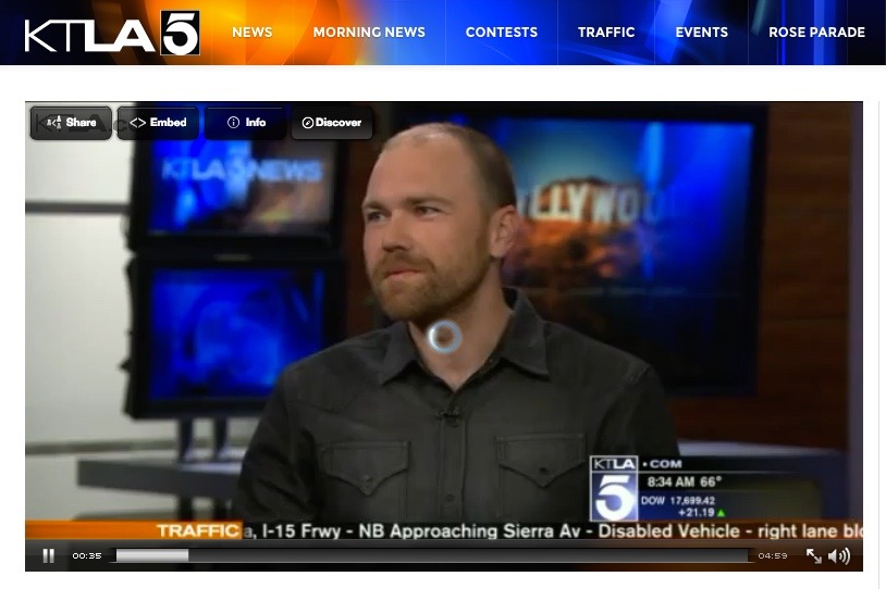 """Religion Behind Bars"" Discussing solitary confinement and WANTED on KATLA5 Los Angeles Morning News"
