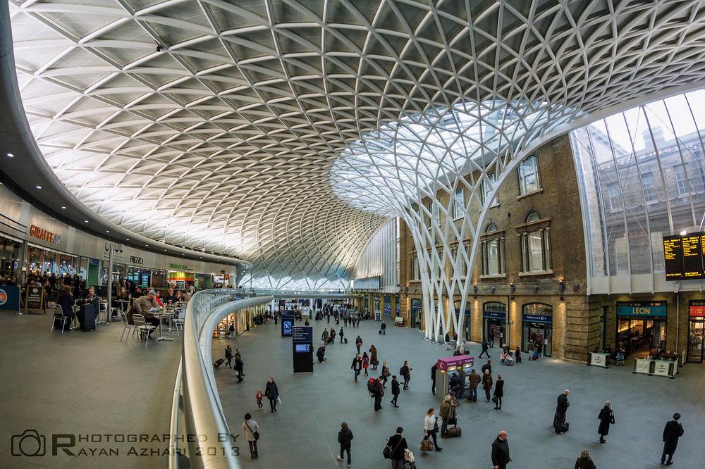 Станция Кинг-Кросс в Лондоне Источник: http://farm9.staticflickr.com/8085/  8370996251  _d6c66dc054_h.jpg