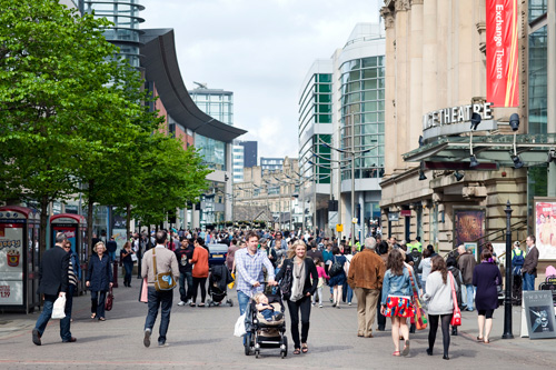 Культурный квартал в Манчестере. Источник