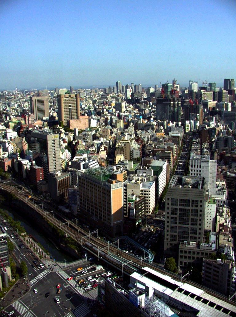 Токио. Приоритет - общественный транспорт