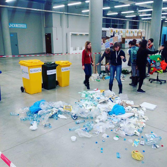 Не пугайтесь, начинается чемпионат по сортировке мусора