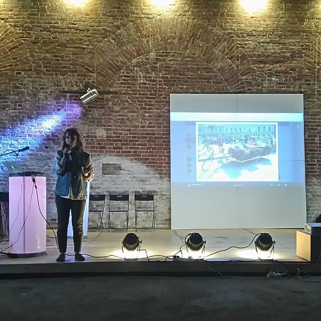 Оля Мнишко, идеолог и лидер проекта Велосипедизация рассказывает от фестивале Сегодня можно. Ищите, приходите, Можно!