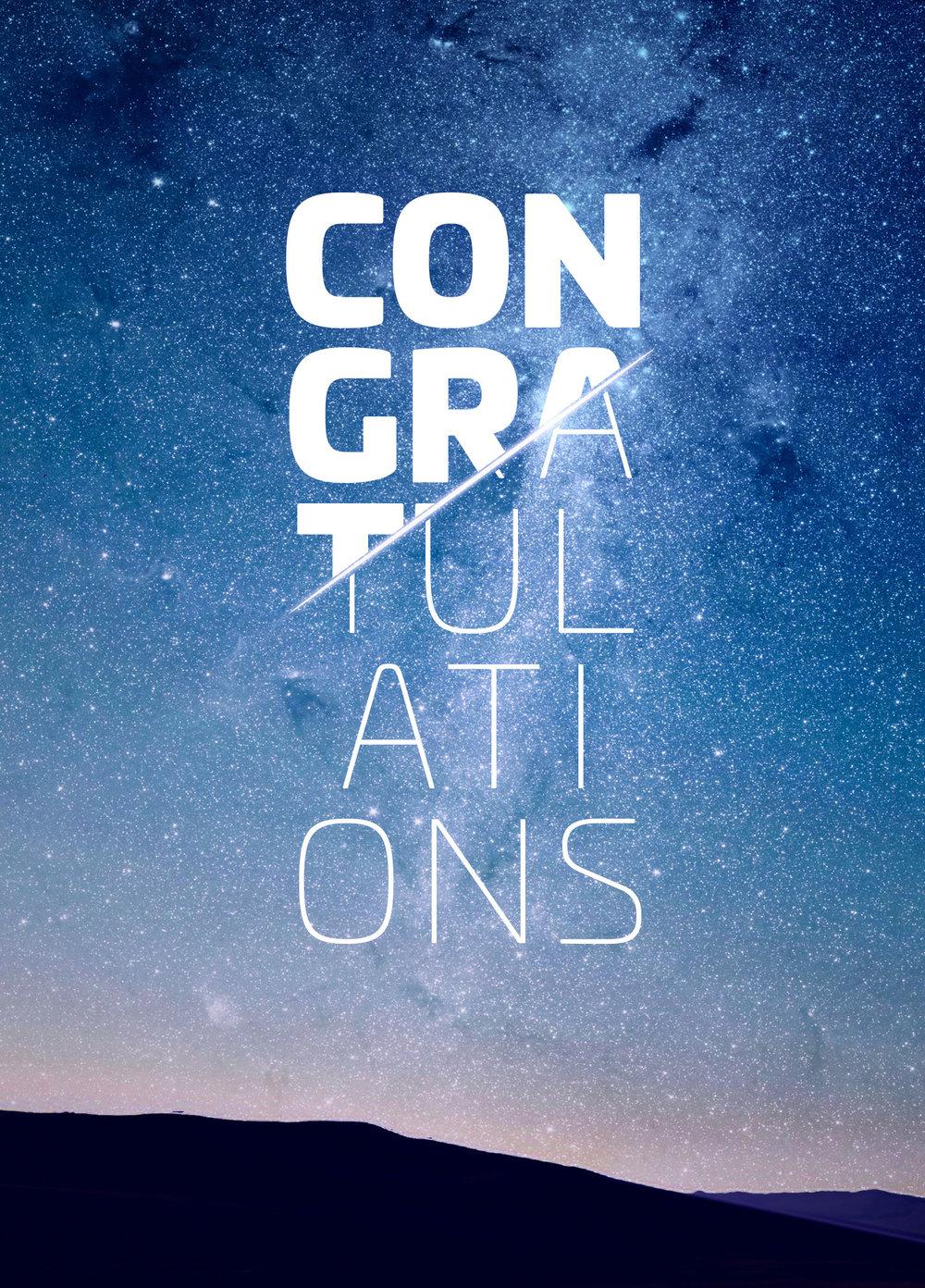 Branded Congratulations Image