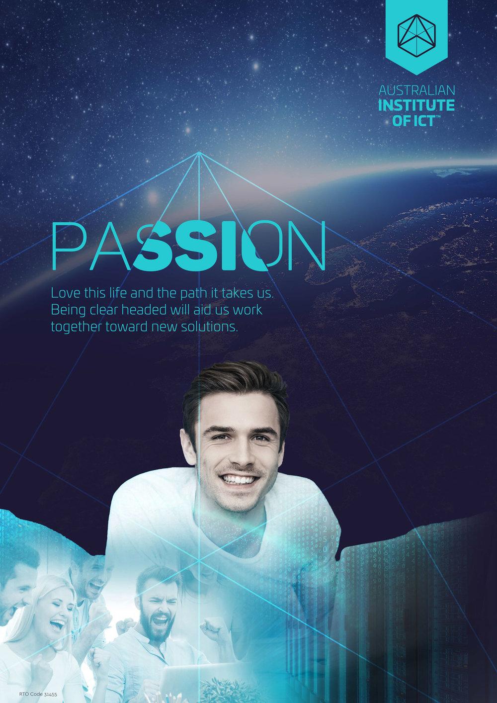 Passion Poster Design
