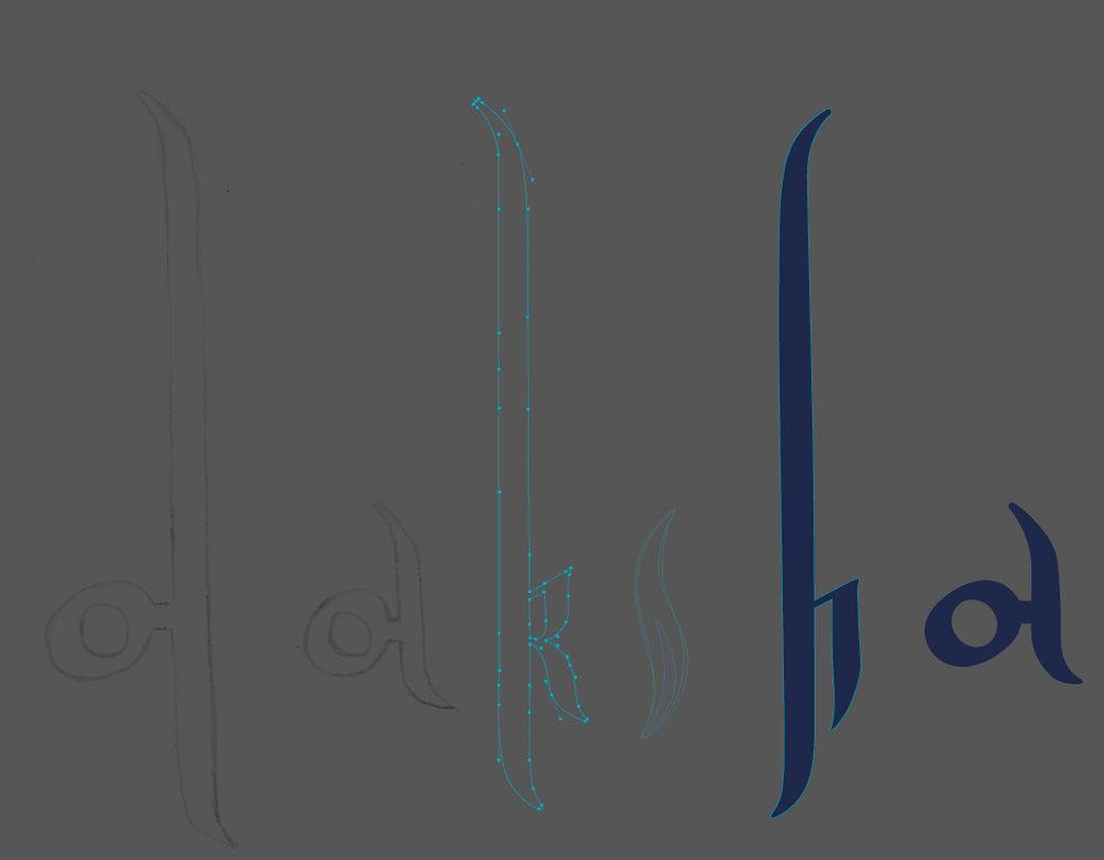 Digitising with vectors